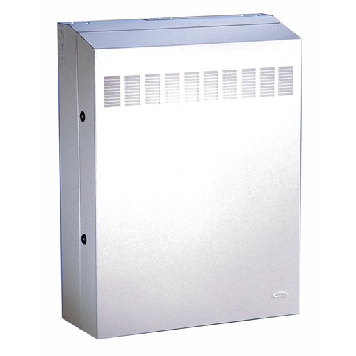 "REBOX® Commercial Cabinet, 32.2"" H x 24.2"" W x 7"" D, Light Gray, Pre-Configured"