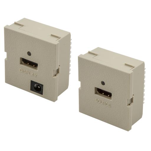 Mayer-iStation Module, HDMI, 110 Termination, Set, Active, 2-Unit, Electric Ivory-1