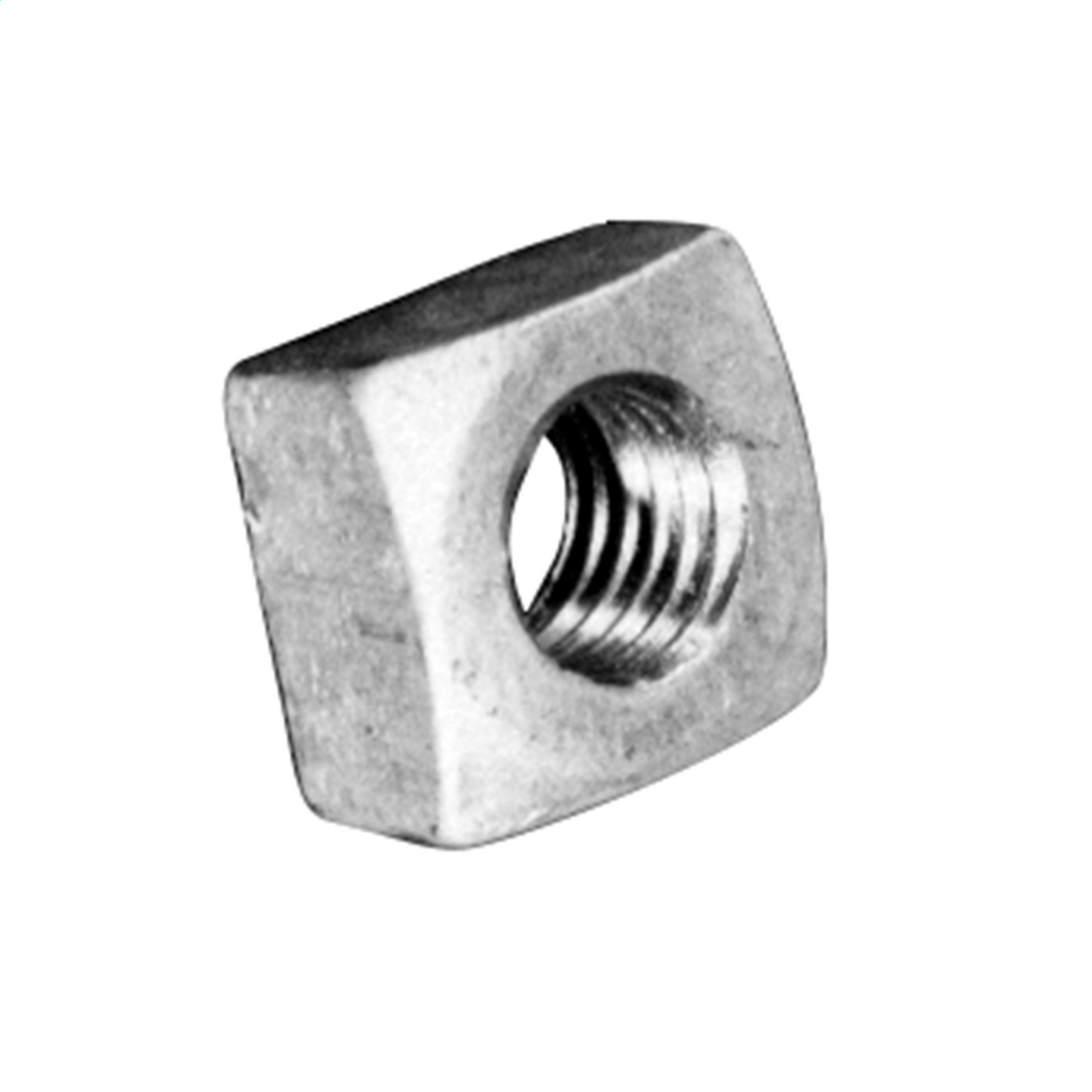 HUBBELL POWER SYSTEMS REGULAR SQUARE NUT FOR 5/8in THREAD BOLTS