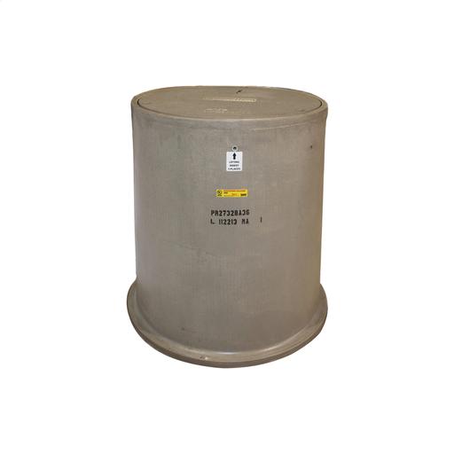 Enclosure, Box, Round, Polymer Concrete