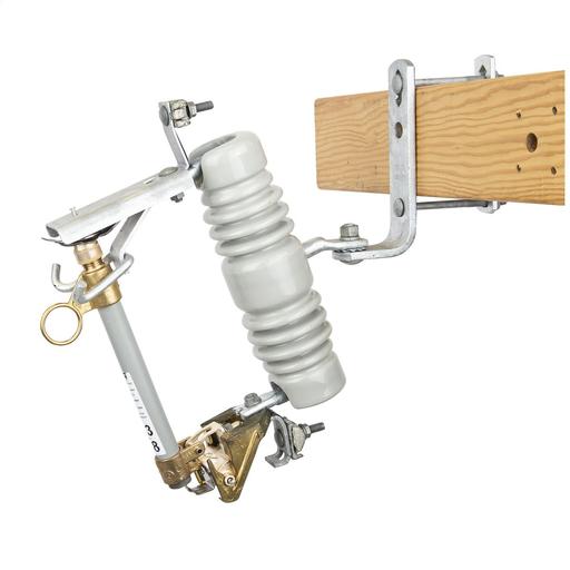 Mayer-27 kV, 125 kV BIL, Type C Standard Porcelain Cutout w/100A 12kAIC fuseholder-1