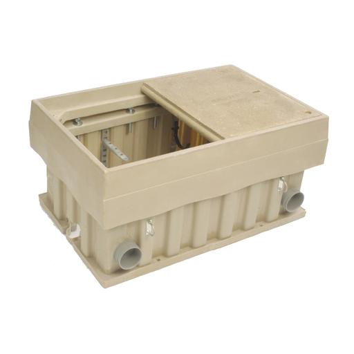 Enclosure, 78x96x48 Box, Tier 8, FRP