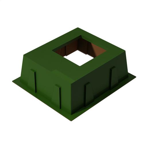 Box Pad, Transformer, Fiberglass