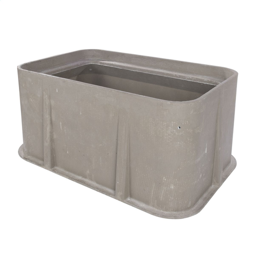 Box, Polymer Concrete, Flared Wall, Gasket