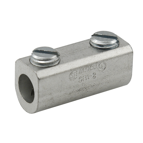Mayer-Aluminum Splicer/Reducer, Dual Rated, Conductor Range 2-14, Tin Plated, UL, CSA-1