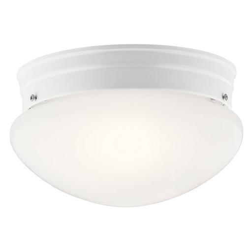 Mayer-Ceiling Space 2 Light Flush Mount White-1