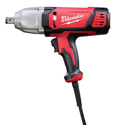Milwaukee Tool 9075-20 120 VAC/VDC 7 Amp 3/4 Inch 600 to 1800 RPM Corded Impact Wrench and Friction Ring Socket Retention