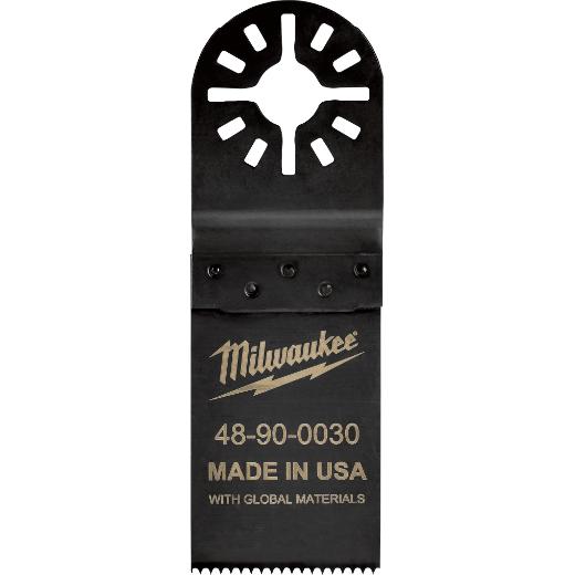 Milwaukee Tool 48-90-0030 1-1/4 Inch Hard Point Multi-Tool Blade