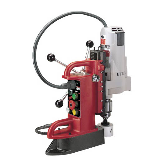 Milwaukee Tool 4210-1 Fixed Position Electromagnetic Drill Press with 3/4 Inch Motor