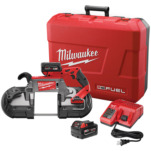 Milwaukee Tool 2729-22 M18 FUEL Deep Cut Band Saw Kit