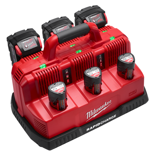 Milwaukee Tool 48-59-1807 M18 and M12 Rapid Charge Station