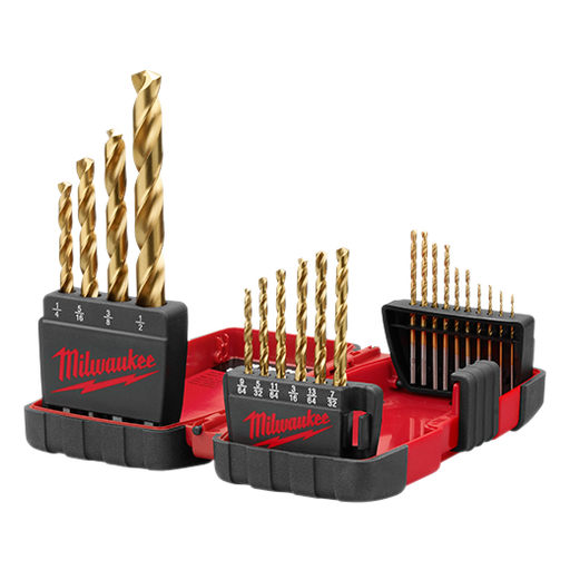 THUNDERBOLT® Titanium Drill Bit Set - 20 pc