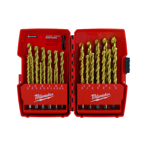 THUNDERBOLT® Titanium Coated Drill Bit Set - 29 pc