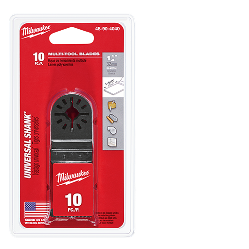 "Multi-Tool Bi-Metal 1-1/4"" Blade -10 PC"
