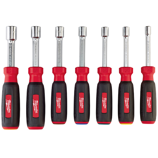 Mayer-7 PC Magnetic HollowCore™ SAE Nut Driver Set-1