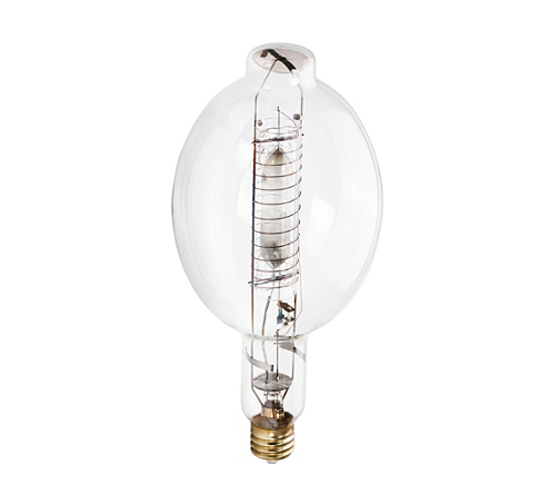 Philips 281188 1000 W BT56 EX39 107000 Lumen 3900 K 65 CRI Clear Metal Halide Lamp