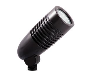 RAB LFLED5A 5 W 120/208/240 Volt 2-3/8 x 6 Inch Cool Bronze Die-Cast Aluminum LED Floodlight Fixture