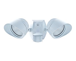 Smartbullet 2 X 12W, 4000k, LED 120V with Sms500 Cu4 Hood, White