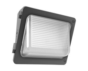 W34 Wallpack 33W,3600Lm LED, 120-277V, 5000k, 80 CRI, Bronze