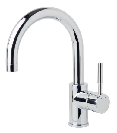 Dia Single Post Bar Faucet, Polished Chrome, SPB-3510-1.5