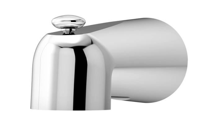 Dia Diverter Tub Spout, Polished Chrome, 352TS