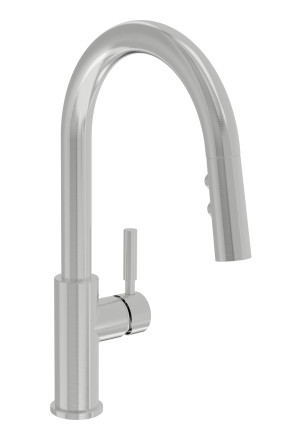 Dia Pull Down Kitchen Faucet, Stainless Steel, S-3510-STS-PD-1.5