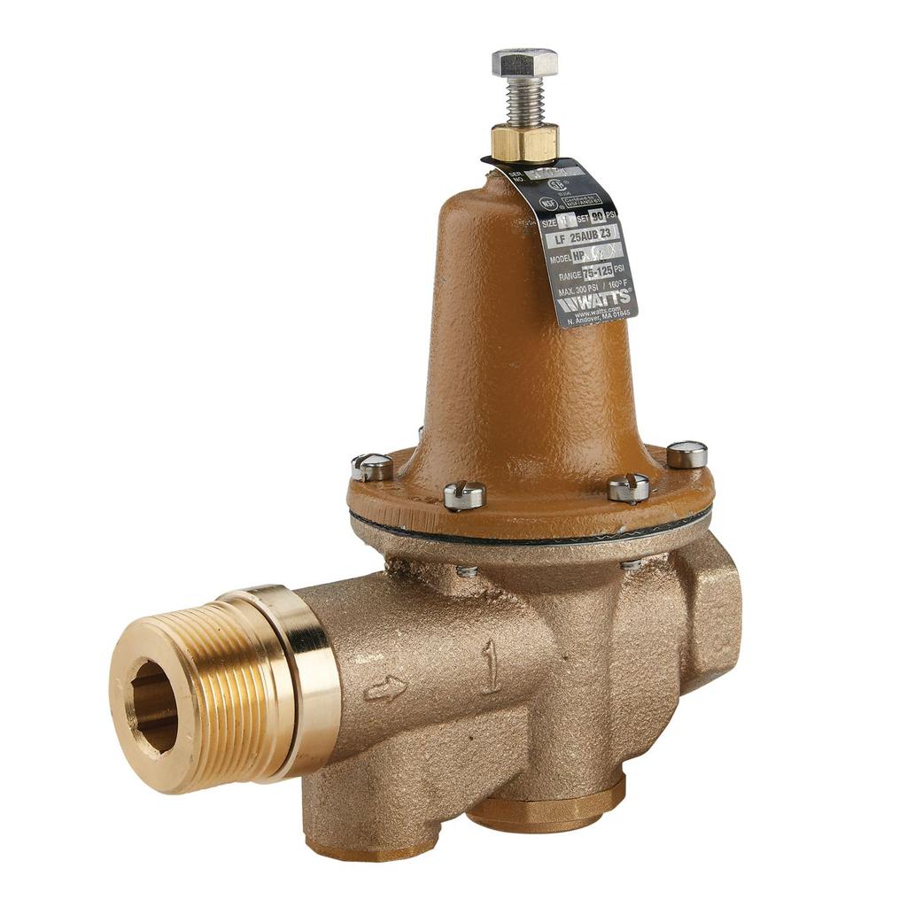 1 In Lead Free Water Pressure Reducing Valve For High Pressure