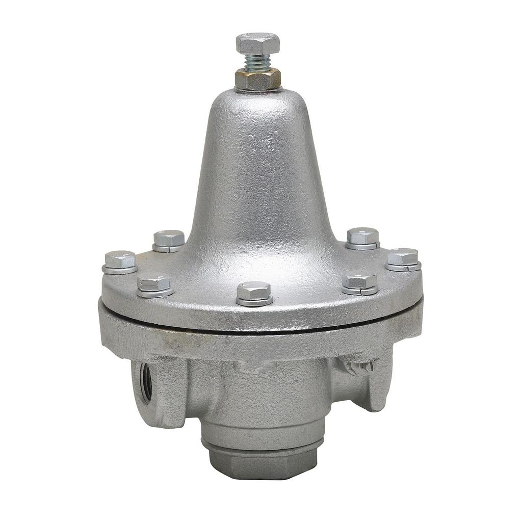 1 1/2 In Iron Process Steam Pressure Regulator, Reduced Pressure Range 5 To 40 psi