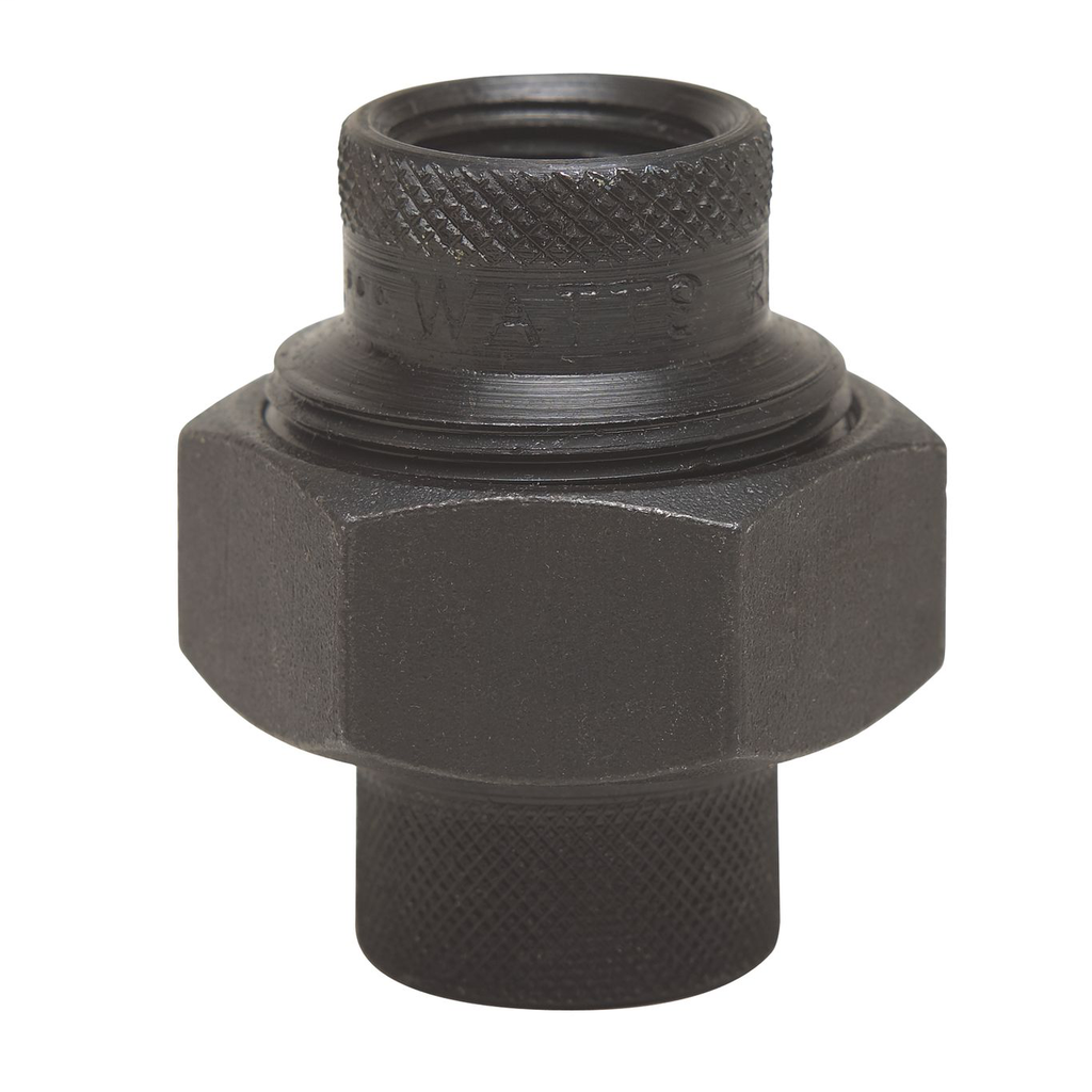 1 1/2 In Lead Free Dielectric Union, Female Iron Pipe Thread To Female Iron Pipe Thread, Black, For Gas Service