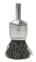 "WEI 10008 Brush 3/4"" Crimped Wire End .020"" Steel Fill"