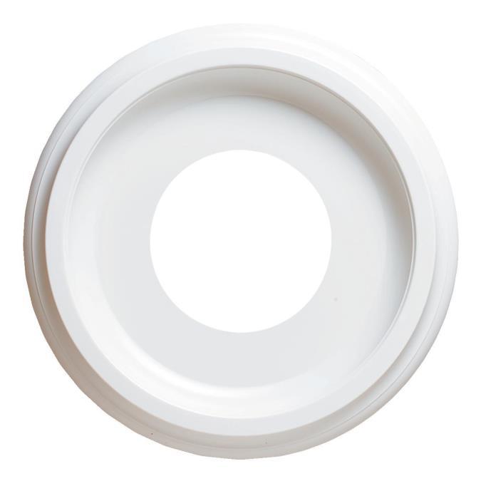 Westinghouse Lighting 7703700 10 Inch Molded Plastic Ceiling Medallion