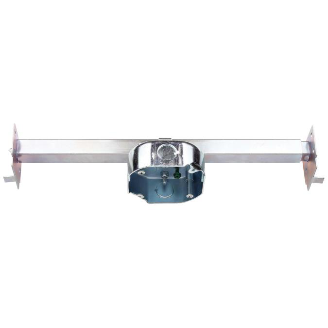 Westinghouse Lighting 0152511 15.5 In Dual Mount Light Fixture and Ceiling Fan Box Support Saf-T-Bar