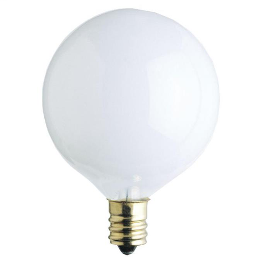 25 Watt G16 1/2 Incandescent Light Bulb