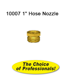 10007 1 in Brass Hose Nozzle 10007