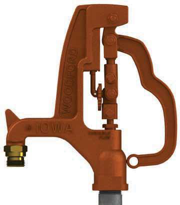 Woodford Y34 IOWA® Yard Hydrant Y34-4