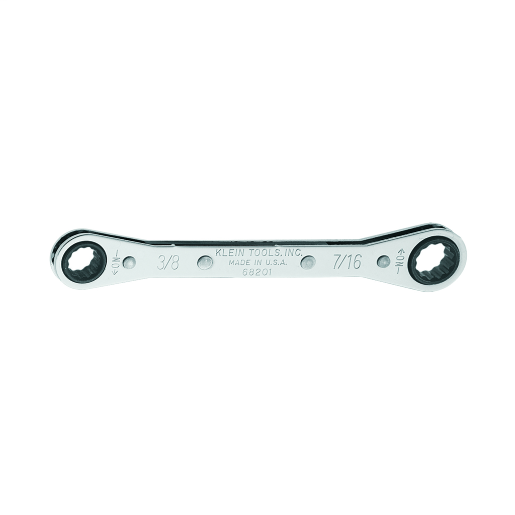 Ratcheting Box Wrench 3/8 x 7/16-Inch