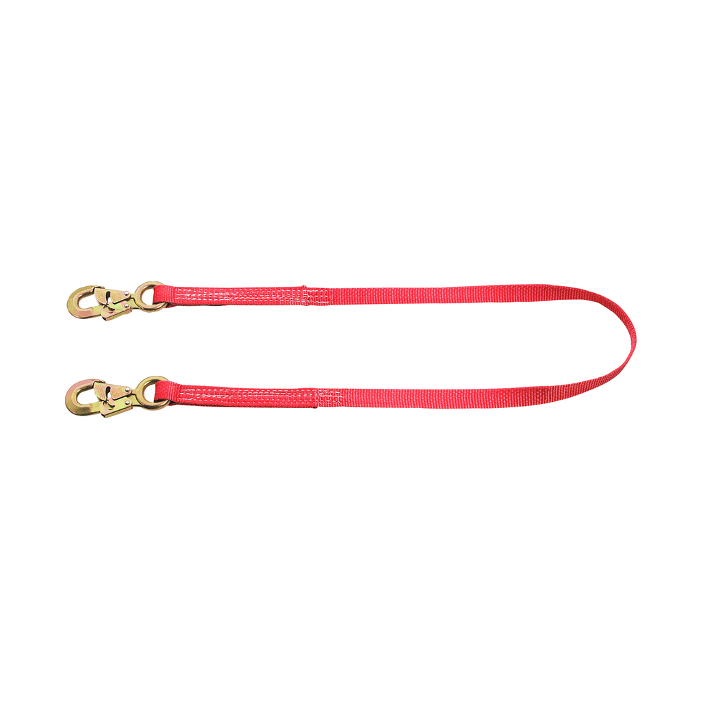 Nylon-Webbing Lanyard Fixed Length, 6-Foot