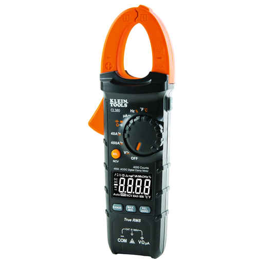 Mayer-Digital Electrical Tester, AC/DC Clamp Meter, Auto-Ranging, 400 Amp-1