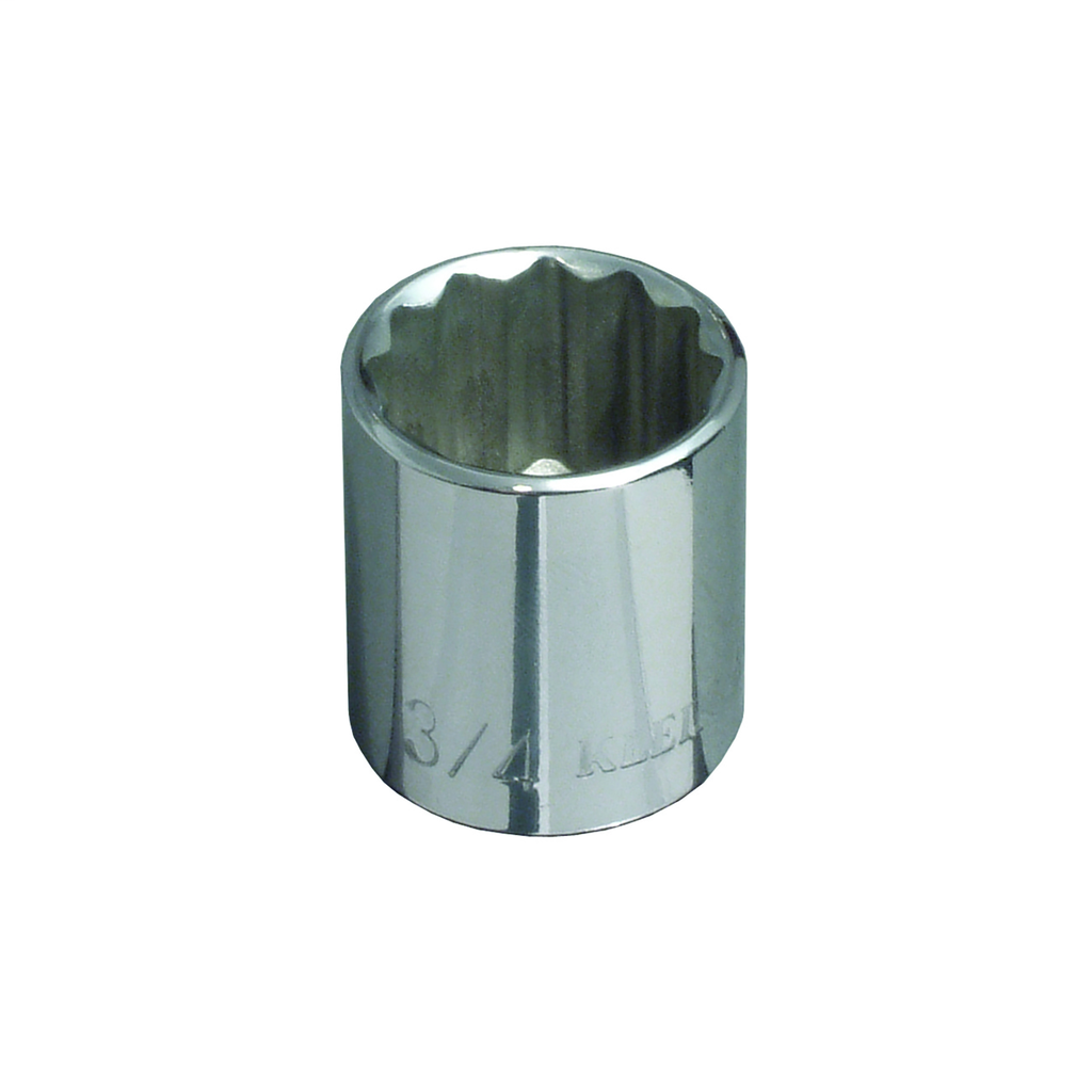Klein Tools 65707 3/8 Inch Drive 13/16 Inch Standard 12-Point Socket