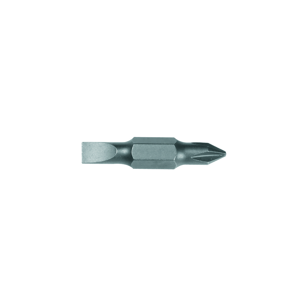 """Klein 32482 #1 Phillips and 3/16"""" Slotted Tip Replacement Bit"""