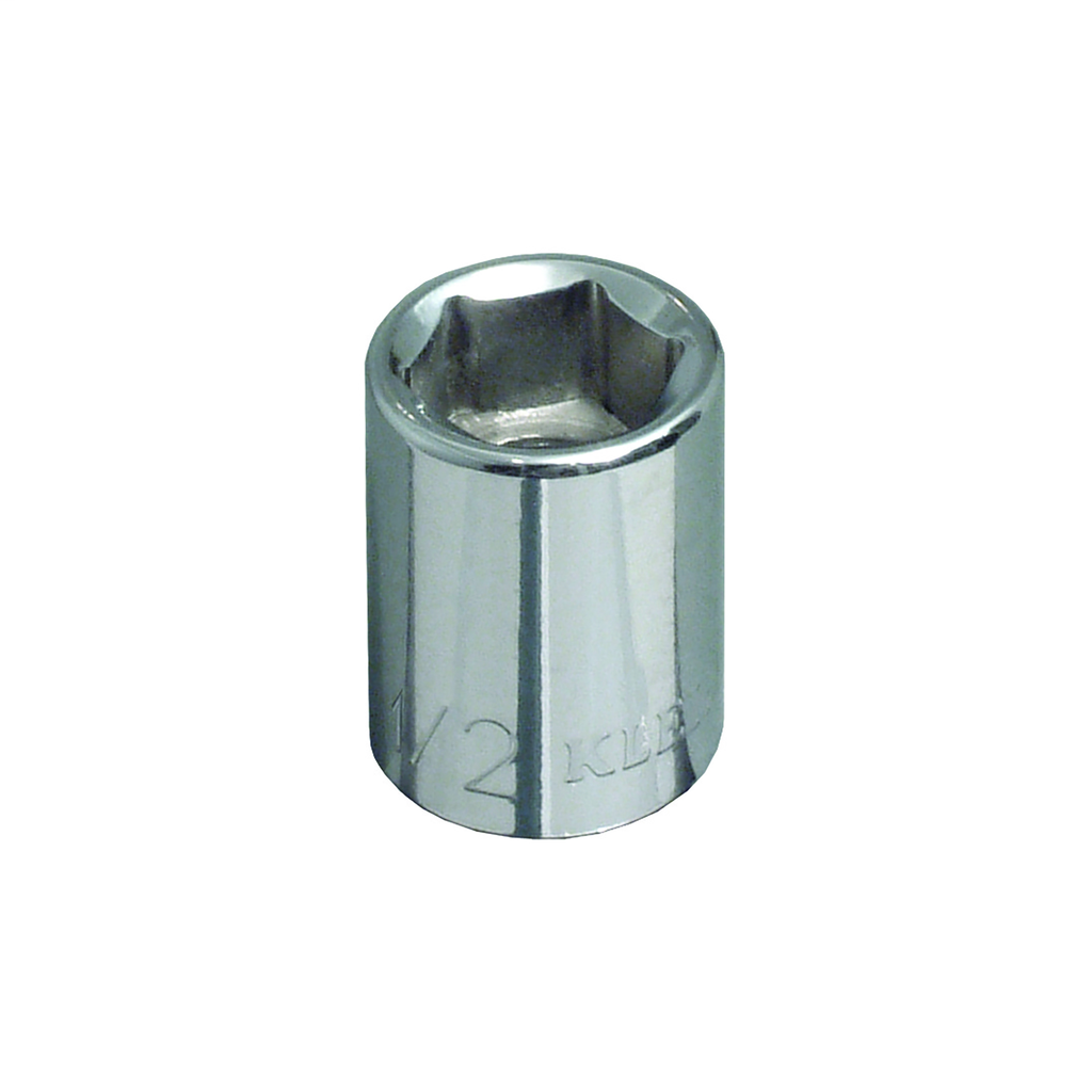 Klein Tools 65700 3/8 Inch Drive 3/8 Inch Standard 6-Point Socket