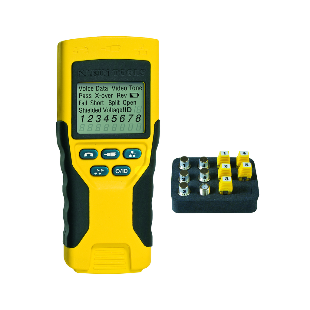KLEIN TOOLS Scout® Pro 2 Tester Kit with Remotes, Adapter, and Batteries