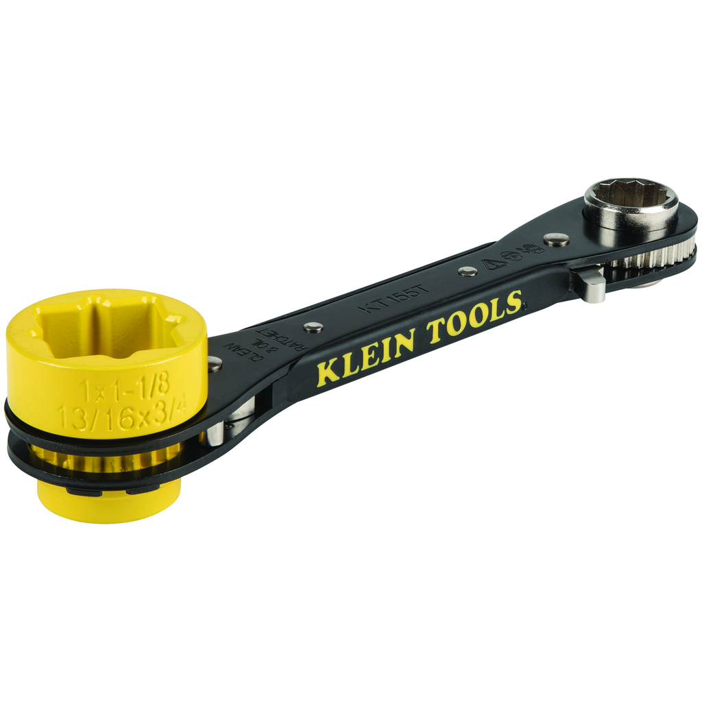 6-in-1 Lineman's Ratcheting Wrench