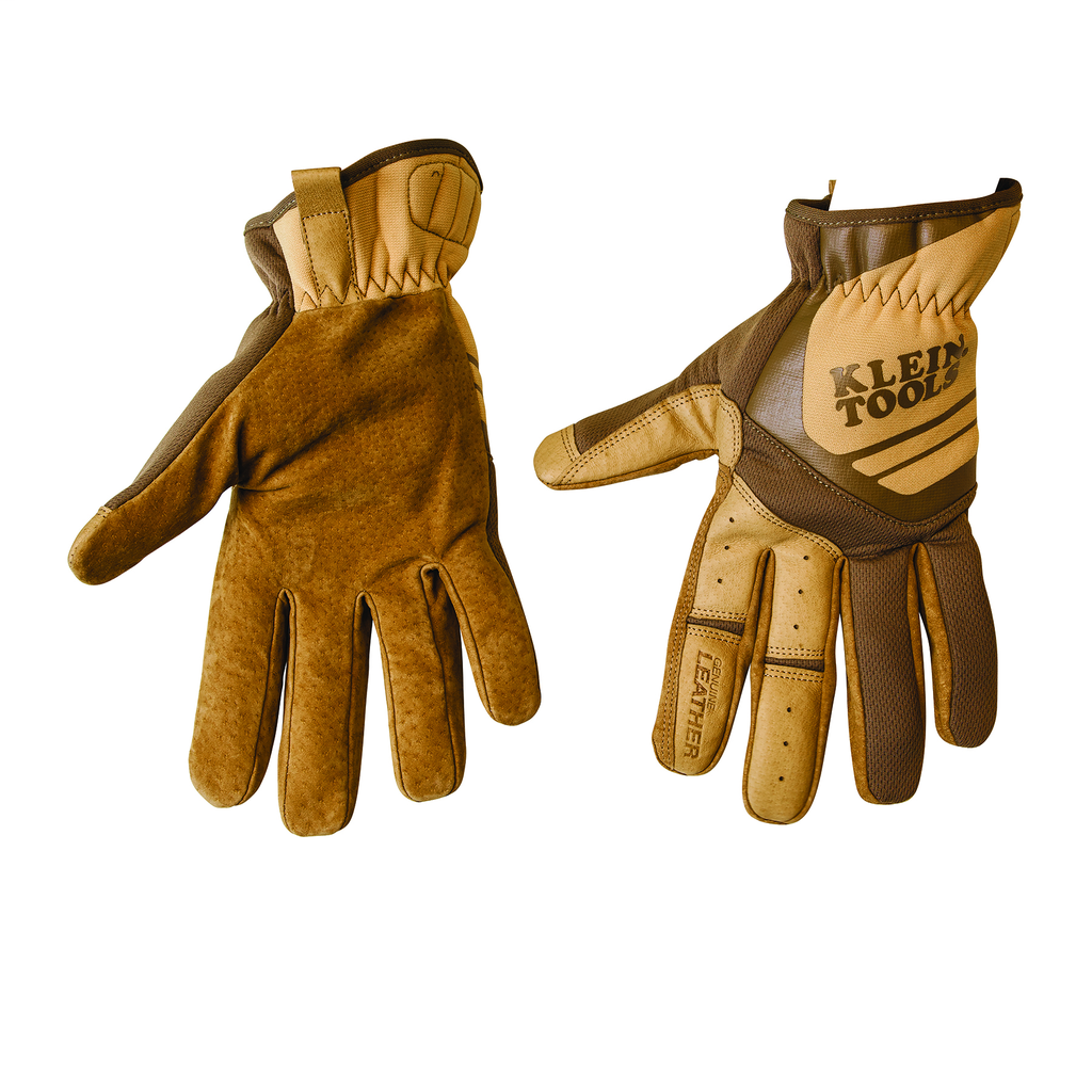 KLEIN 40227 Leather Utility Gloves,