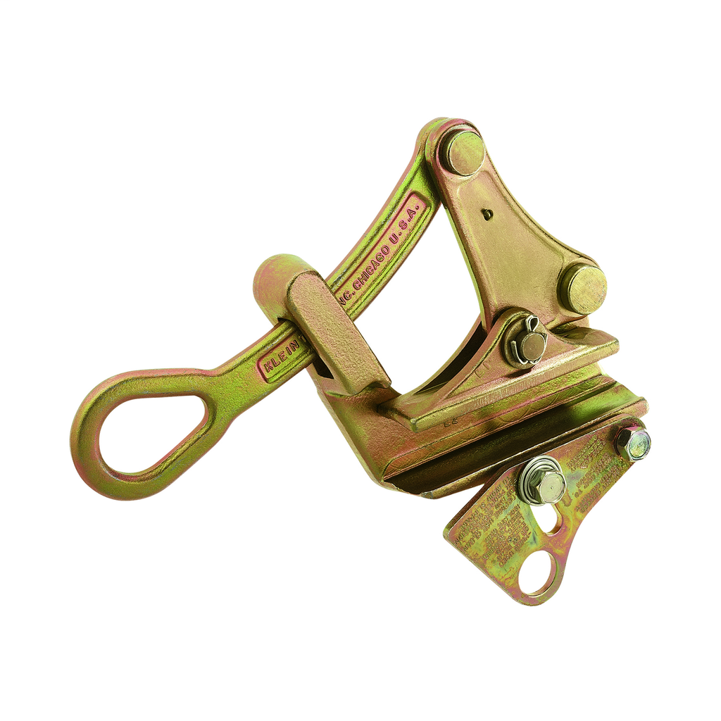 Klein Tools 1685-31 0.62 to 1.25 Inch 7500 lb Forged Steel Parallel Jaw Wire Pulling Grip