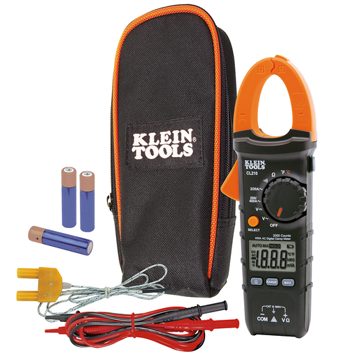 Mayer-Clamp Meter, Digital AC Auto-Ranging Tester with Thermocouple Probe-1