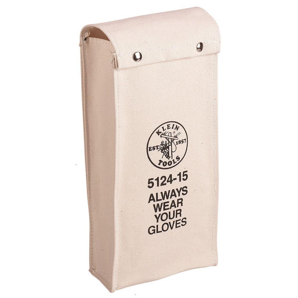 Klein Tools 5124-15 17 x 8 Inch Canvas Gloves Bag