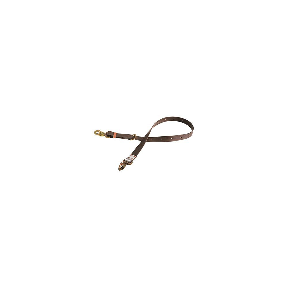 Klein Tools KL5295L 5 Foot 8 Inch Steel Locking Snap Hook Adjustable Positioning Strap