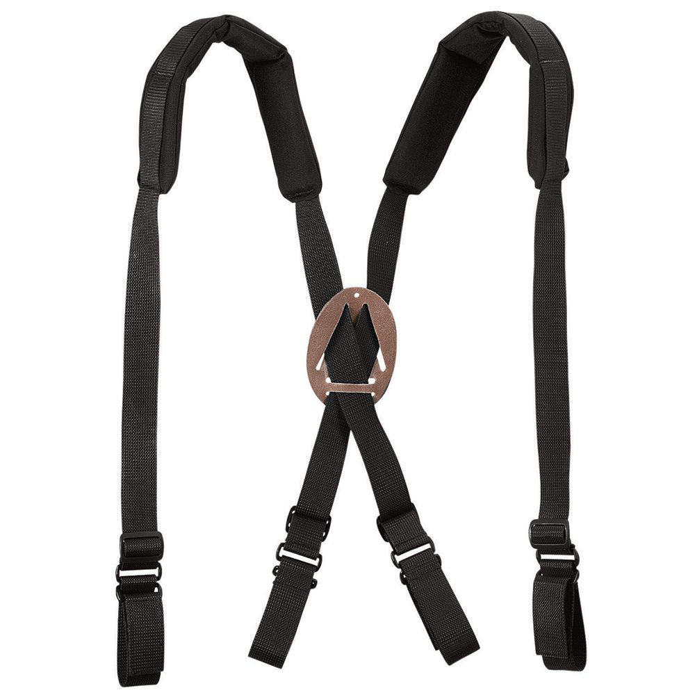 Klein 5717 Black Padded Suspenders
