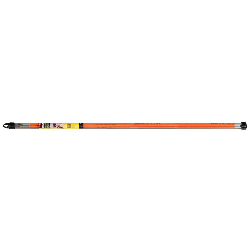 Klein Tools 56312 1/4 Inch x 12 Foot Wire Pulling Fish Rod Set